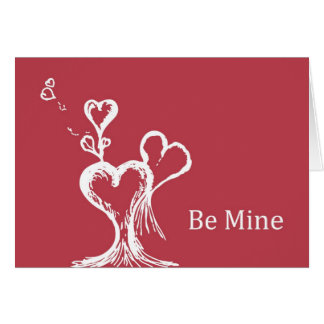 """""""Be Mine"""" for Valentine's Day Greeting Card"""
