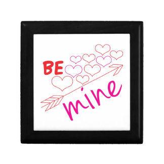 Be Mine Small Square Gift Box