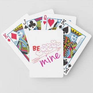Be Mine Bicycle Playing Cards