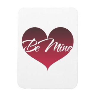 Be Mine Rectangular Photo Magnet