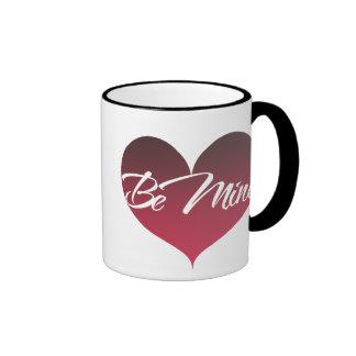 Be Mine Ringer Mug