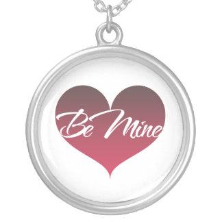 Be Mine Round Pendant Necklace