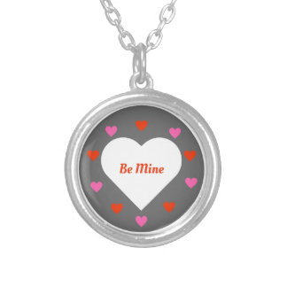 Be Mine Silver Plated Necklace