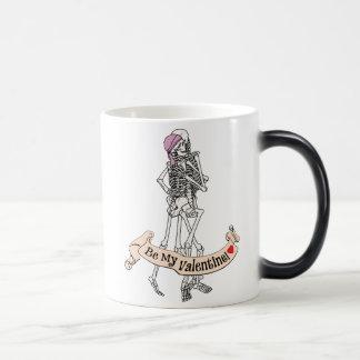 Be Mine Skeletons Mug