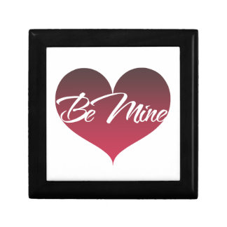 Be Mine Small Square Gift Box
