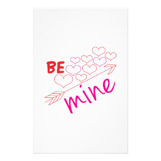Be Mine Stationery Paper