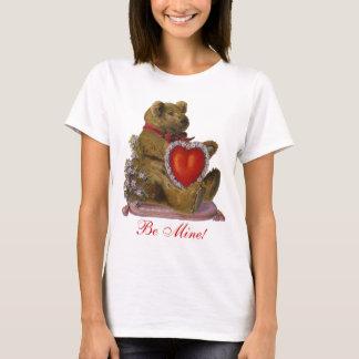 Be Mine Teddy Bear Valentine T-Shirt