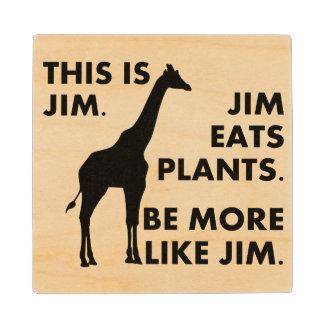 Be More Like Jim Wood Coaster