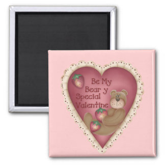 Be My Beary Special Valentine Magnet