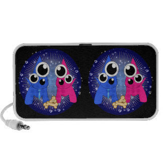 Be My Beau Dog Doodle Notebook Speakers