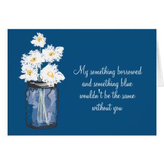 Be My Bridesmad - Mason Jar & Daisies Cards