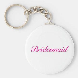 Be my bridesmaid key ring