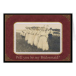 Be my Bridesmaid? - Nostalgic Vintage