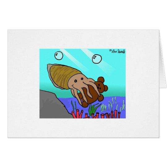 Be My Cuddlefish Card