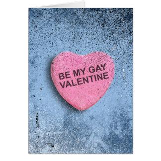 Be My Gay Valentin Greeting Card