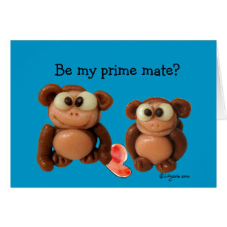 Be My Prime Mate Love Valentine s Day Card