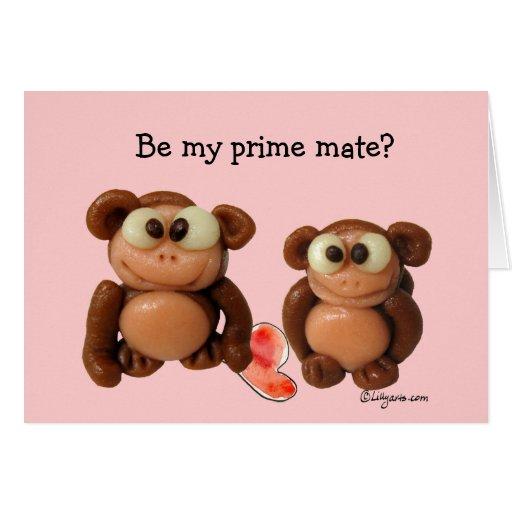 Be My Prime Mate? Valentine Card