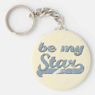 Be my Star Key Ring