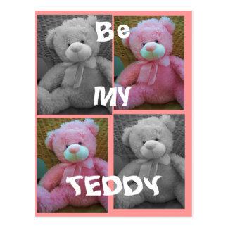 Be my Teddy Postcard
