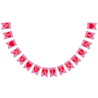 Be My Valentine Bunting