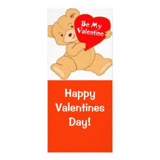 Be My Valentine - Designer Rack Card