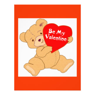 Be My Valentine - Designer Valentine For Class 21.5 Cm X 28 Cm Flyer