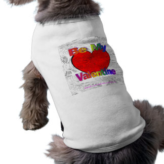 Be My Valentine - Get Lost Sleeveless Dog Shirt