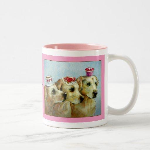 Be My Valentine Labrador Retreiver Mug
