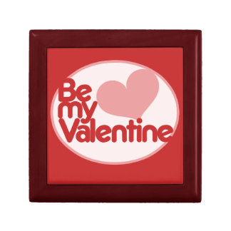 Be my Valentine Small Square Gift Box