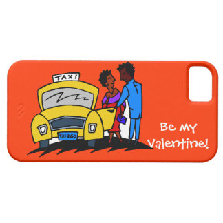 Be my Valentine, taxi! iPhone 5 Case
