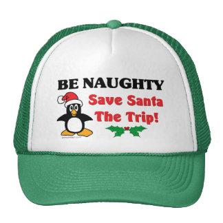 Be Naughty! Save Santa The Trip! Cap