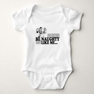 Be Naughty Tee Shirt