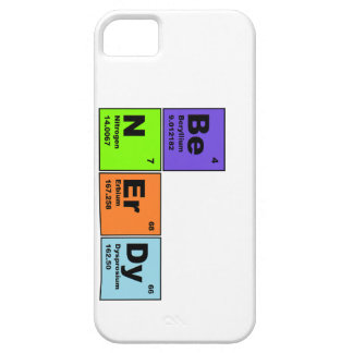Be Nerdy Science IPhone Case Barely There iPhone 5 Case