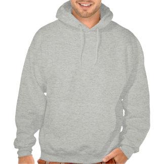 Be nice to fat people hoodie