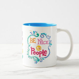Be Nice To People  mug 2