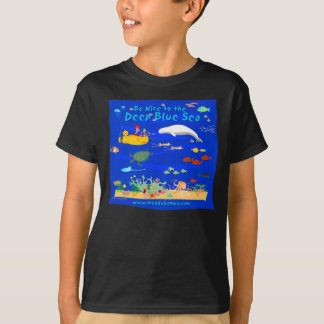 Be Nice to the Deep Blue Sea T-Shirt