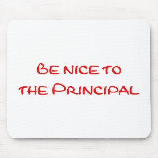Be Nice to the Principal Mousepad