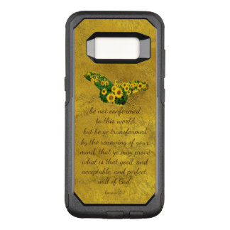 Be Not Conformed Bible Verse OtterBox Commuter Samsung Galaxy S8 Case