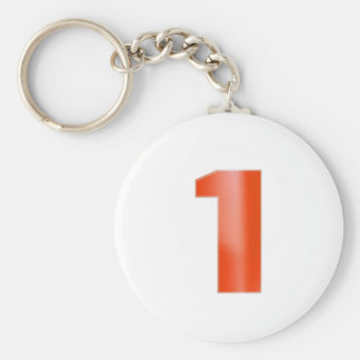Be NUMBER ONE - Keep right color image association Keychains