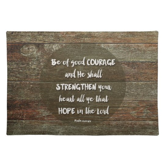 Be of Good Courage - Psalm 31:24 Mouse