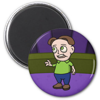 Be one of us!! 6 cm round magnet