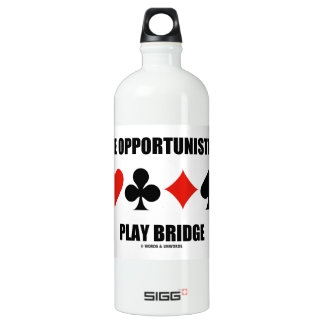 Be Opportunistic Play Bridge (Four Card Suits) SIGG Traveller 1.0L Water Bottle