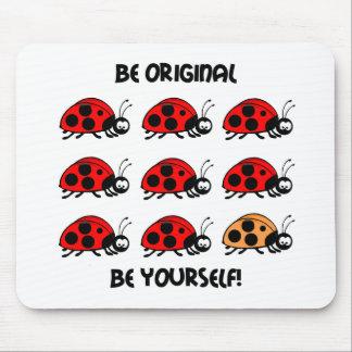 Be original ladybug mouse mat