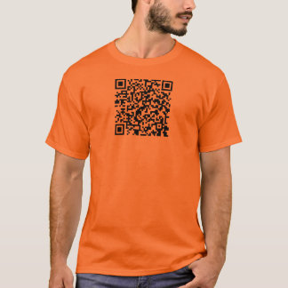 Be part of the information revolution! qr t-shirt
