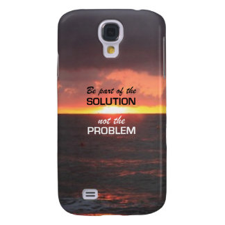 Be Part of the Solution Galaxy S4 Case