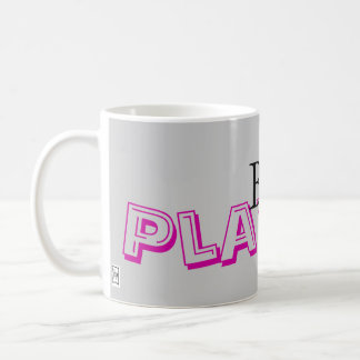 Be Playful Basic White Mug