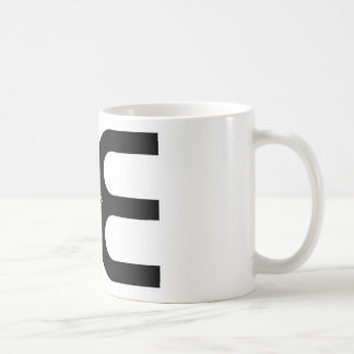 Be Positive Basic White Mug