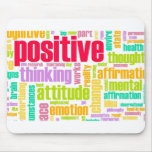 Be Positive! Stay Positive! Mousepads
