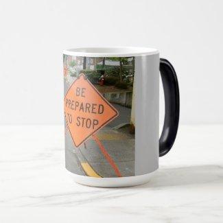 Be Prepared to Stop Magic Mug