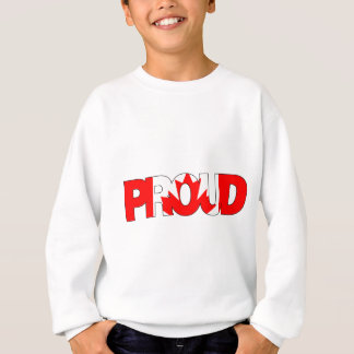 Be Proud Canada Sweatshirt